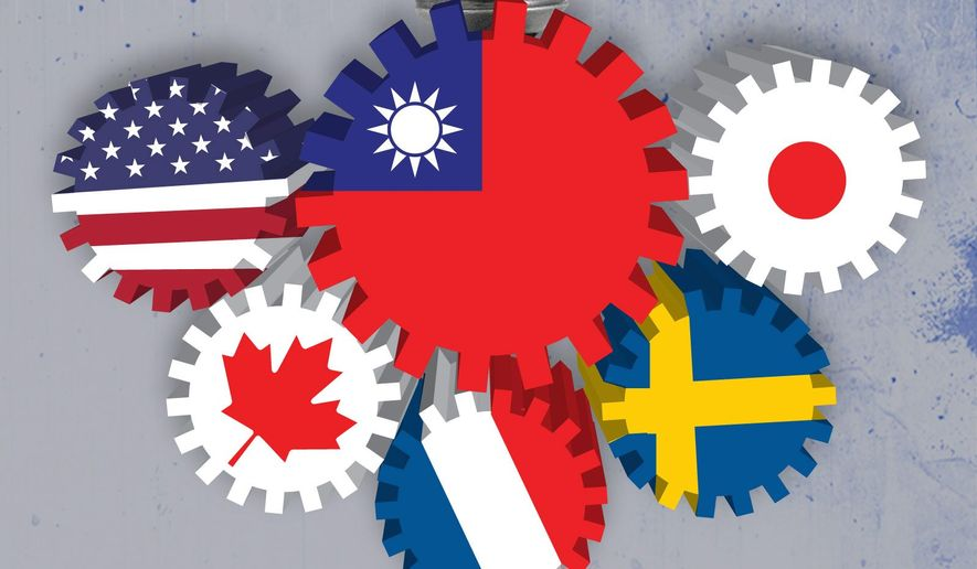 Taiwan as a member of the Inter-American Development Bank illustration by Linas Garsys / The Washington Times