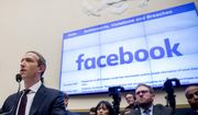 In this Oct. 23, 2019, file photo, Facebook CEO Mark Zuckerberg testifies before a House Financial Services Committee hearing on Capitol Hill in Washington. (AP Photo/Andrew Harnik, File)