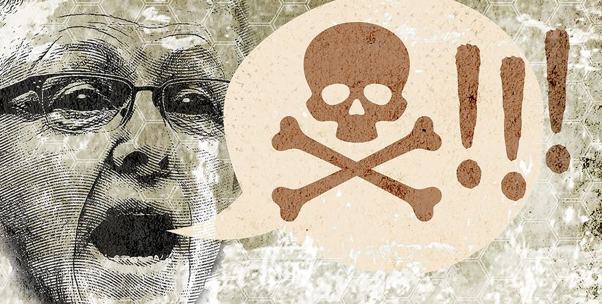 Everything is poison Illustration by Greg Groesch/The Washington Times