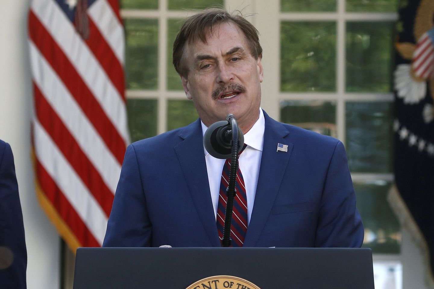 My Pillow's Mike Lindell pushes back date he predicts Donald Trump is reinstated as president