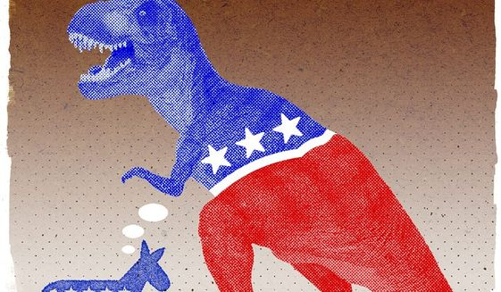 Rethinking the Democrat Party Illustration by Greg Groesch/The Washington Times