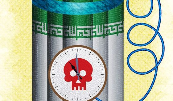 The Ticking Time Bomb that is Iran Illustration by Greg Groesch/The Washington Times