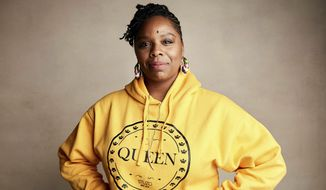 """In this Jan. 27, 2019, file photo, Patrisse Cullors poses for a portrait to promote a film during the Sundance Film Festival in Park City, Utah. A financial snapshot shared exclusively with The Associated Press shows the Black Lives Matter Global Network Foundation raked in just over $90 million last year. Cullors, BLM co-founder, told the AP that the foundation is focused on a """"need to reinvest into Black communities."""" (Photo by Taylor Jewell/Invision/AP, File)"""