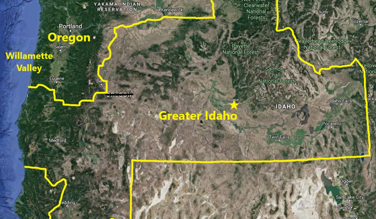 Five Oregon counties to vote on leaving state, escaping to 'Greater Idaho'