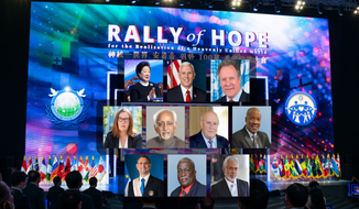 The rally, organized by the Universal Peace Federation (UPF), drew well over 1 million participants from across the globe, all united in the fight against oppression, poverty and racial discrimination.