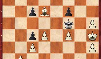 Shirov-Aronian after 43. Ba3-d6.