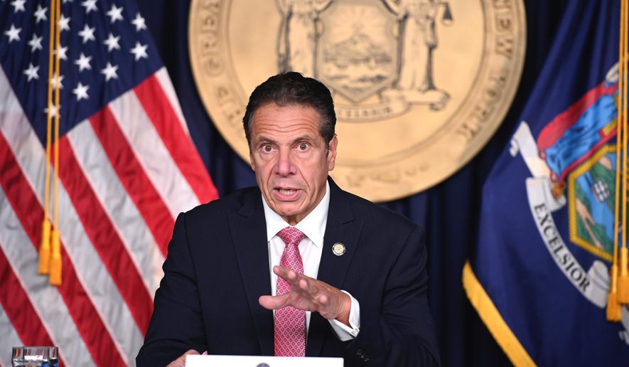 A conservative watchdog released a study on Monday that was critical of the news media's coverage of Gov. Andrew Cuomo. The report says the mishandling of nursing home patients was barely reported upon. (Associated Press)
