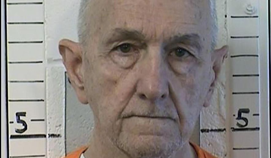 """This photo provided by the California Department of Correction and Rehabilitation shows inmate Roger Reece Kibbe, 81. Kibbe a serial killer known as the """"I-5 Strangler"""" in the 1970s and 1980s has been killed in the prison where he was serving multiple life sentences, state correctional officials said Monday, March 1, 2021. Kibbe was unresponsive in his cell at Mule Creek State Prison southeast of Sacramento shortly after midnight Sunday. (CDCR via AP)"""