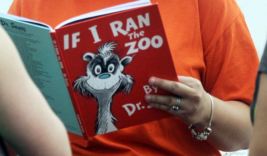 """If I Ran the Zoo"" is among six books that won't be published by Dr. Seuss Enterprises, the business that preserves and protects his legacy. (Evansville Courier & Press via Associated Press)"