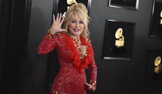 Dolly Parton arrives at the 61st annual Grammy Awards on Feb. 10, 2019, in Los Angeles. (Photo by Jordan Strauss/Invision/AP, File)