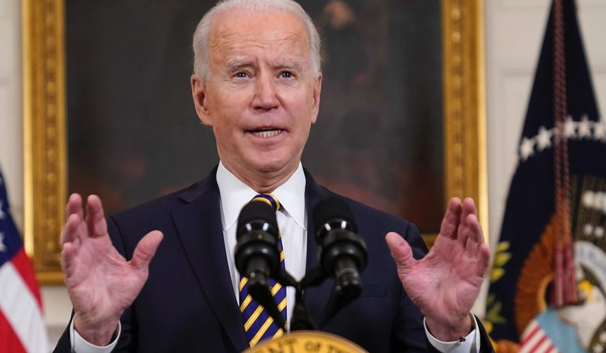 President Biden hasn't given a solo press conference. He also hasn't given an address before a joint session of Congress since taking office. (Associated Press)