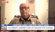 Arizona Sheriff Mark Dannels of Cochise discusses changes along the U.S. southern border since President Biden took office, March 5, 2021. (Image: Fox News video screenshot)