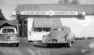 Olivers Grocery was the only white-owned business in Soria City, where commercial enterprises once thrived. Residents hope to bring business back to the historic community with support from urban planners and others. (The Sun Herald via AP)