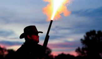 "Virginia law allows localities to establish ""gun-free"" zones. Alexandria, Fairfax, Falls Church, Richmond are among the cities that have set up gun-free zones. (ASSOCIATED PRESS)"