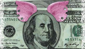 Earmark Corruption Illustration by Greg Groesch/The Washington Times