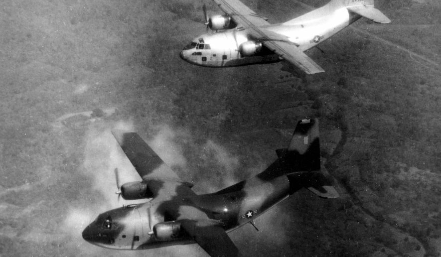 Air America was a CIA passenger and cargo airline used during the Vietnam War. Those who flew the planes feel forgotten and have been denied retirement benefits for decades. House and Senate bills aim to change that. (Associated Press)