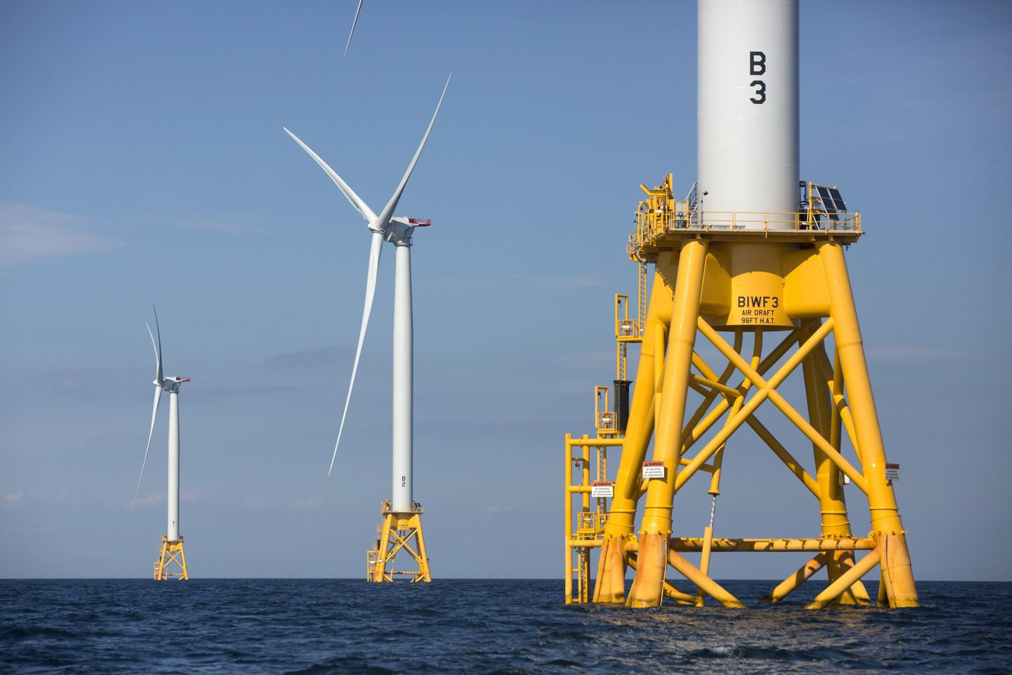 Biden hopes to boost offshore wind as Mass. project advances