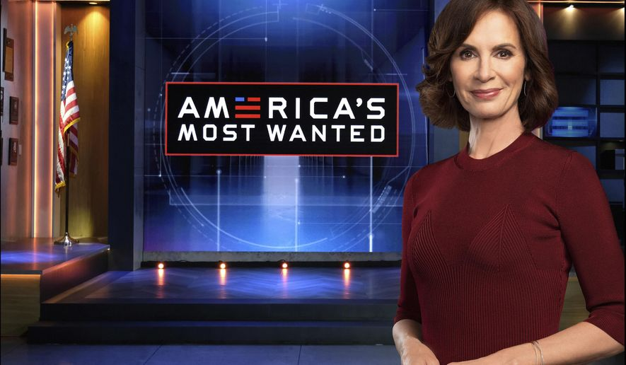 """Host Elizabeth Vargas appears on the set of """"America's Most Wanted,"""" premiering March 15 at 9 p.m. EST. (Michael Becker/FOX via AP)"""