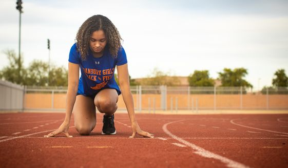 High school runner Alanna Smith is getting little support from Democrats in her battle to keep biological males off her track as she chases a chance to become a Lady Tiger. (Alliance Defending Freedom)