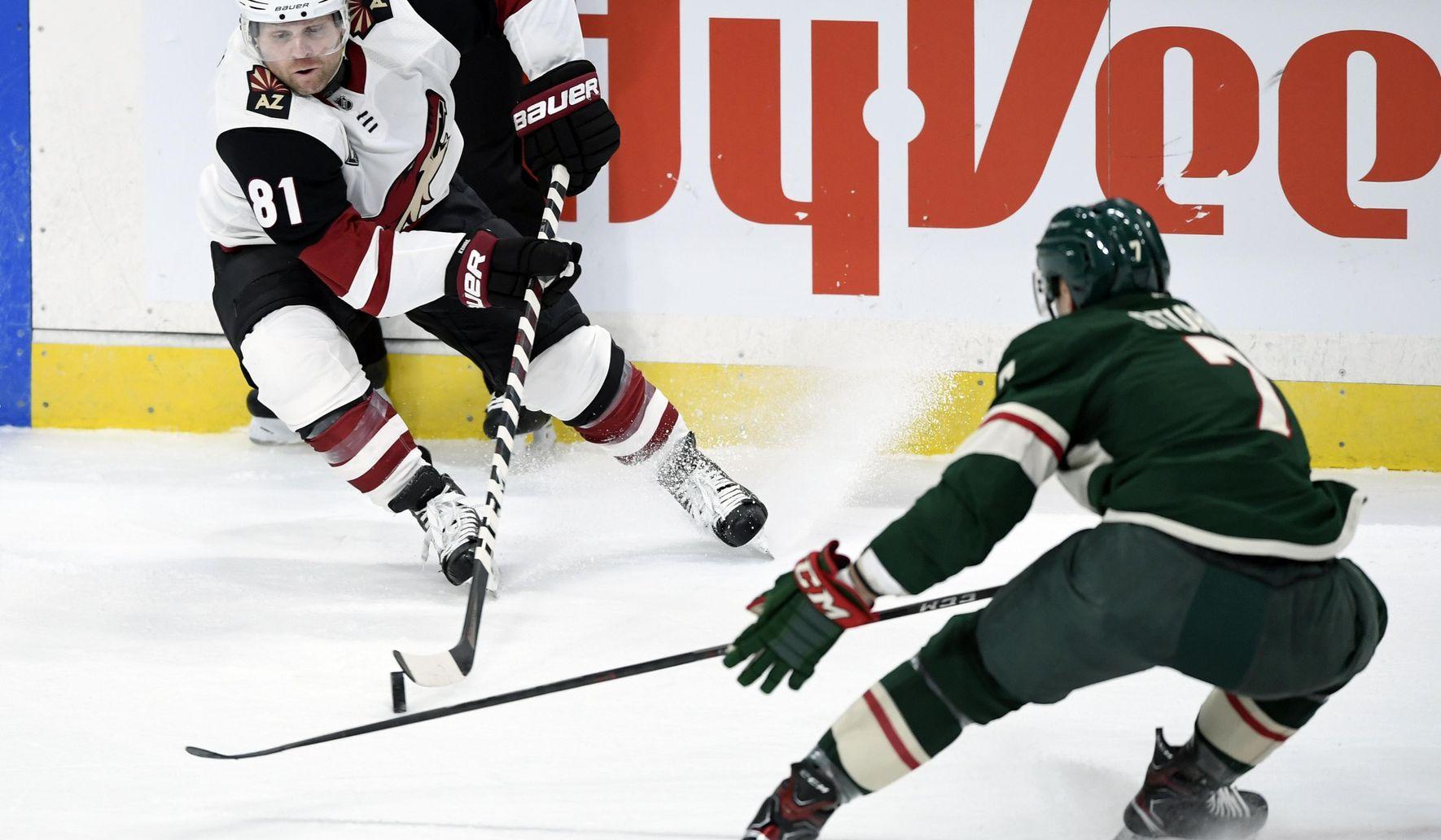 Wild score 3 goals in third to beat Coyotes 4-1