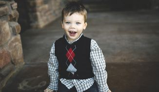 This Oct. 2, 2015 photo provided by the Lane Thomas Foundation shows Lane Thomas Graves, in Omaha, Neb. Graves died in 2016 after an alligator attacked him at Walt Disney World in Orlando, Fla. The Lane Thomas Foundation his parents created after his death is moving beyond the small-scale donations it has been making so far to individual families with children undergoing transplants to raise awareness nationally about the need for pediatric organ donation. (Lane Thomas Foundation via AP)