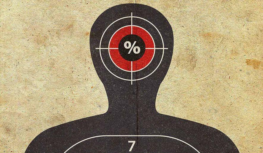 Biden Target Practice Illustration by Greg Groesch/The Washington Times