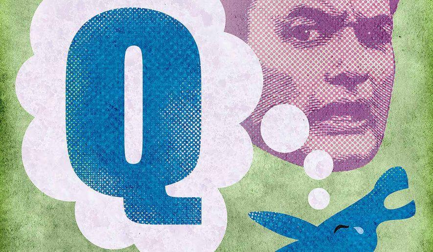 Democrats Bemoan Loss of Q Illustration by Greg Groesch/The Washington Times