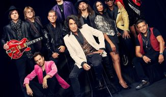 """This cover image released by uDiscover shows """"Now And Then"""" by Paul Stanley's Soul Station. (uDiscover via AP)"""