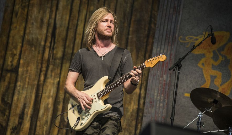 Kenny Wayne Shepherd performs at the New Orleans Jazz and Heritage Festival on Saturday, May 6, 2017, in New Orleans. (Photo by Amy Harris/Invision/AP)
