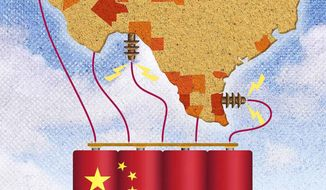 China's Foothold in American Energy Illustration by Greg Groesch/The Washington Times