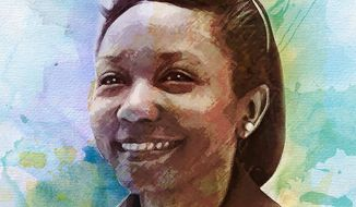 Dr. Mildred Jefferson, circa 1975 Illustration by Greg Groesch/The Washington Times