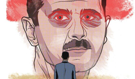 Assad and the Red Line Illustration by Linas Garsys/The Washington Times