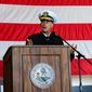 Adm. John C. Aquilino, who is on deck to lead the U.S. Indo-Pacific Command, says China is advancing its military capabilities at an alarming rate. (U.S. Navy)