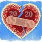 Election 2020 Broken Heart Illustration by Greg Groesch/The Washington Times