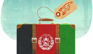 The Case for Afghanistan Illustration by Greg Groesch/The Washington Times