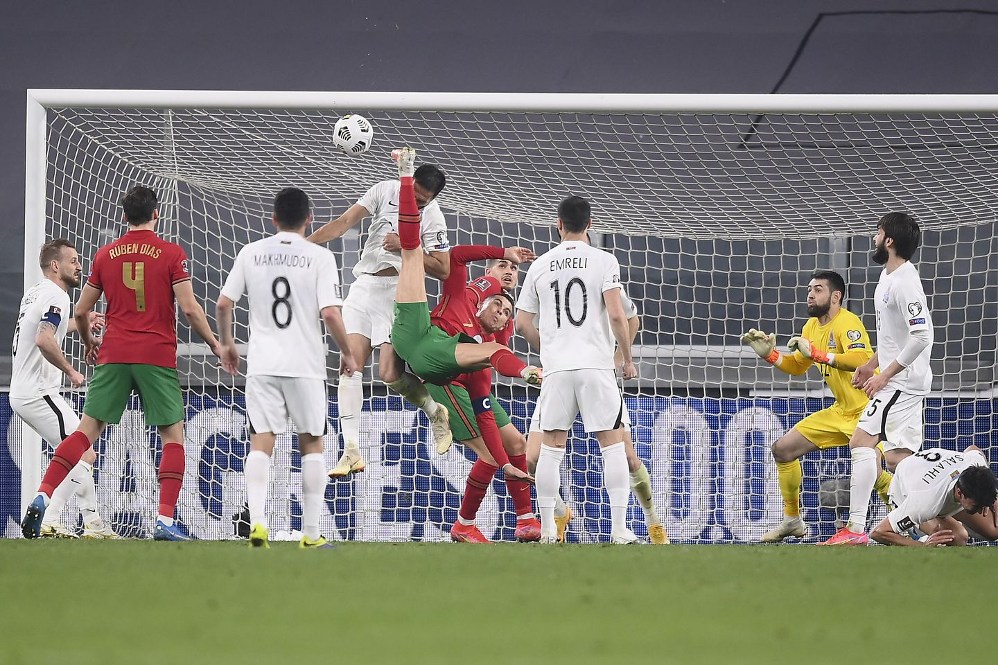 Ronaldo scoreless as Portugal tops Azerbaijan 1-0 in Group A | Soccer-Addict