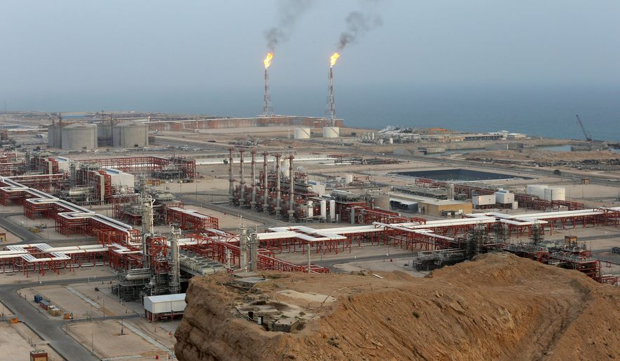Iranian refineries are fueling defiance of U.S. sanctions imposed by the Trump administration. China has sent a lifeline to Tehran by tripling its purchases of oil from the nation since President Biden took office. (Associated Press)