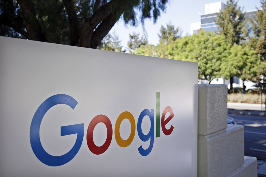 The Chamber of Progress lists several prominent technology companies as partners, including Amazon, Facebook, Google, Twitter and Uber. (AP Photo/Marcio Jose Sanchez, File) **FILE**