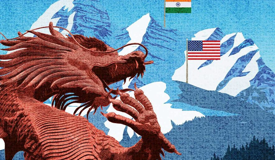 Deterring Chinese Aggression Illustration by Greg Groesch/The Washington Times