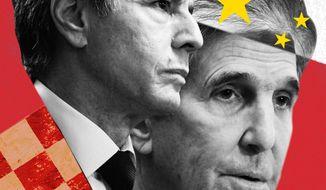 John Kerry Unmasked Illustration by Linas Garsys/The Washington Times