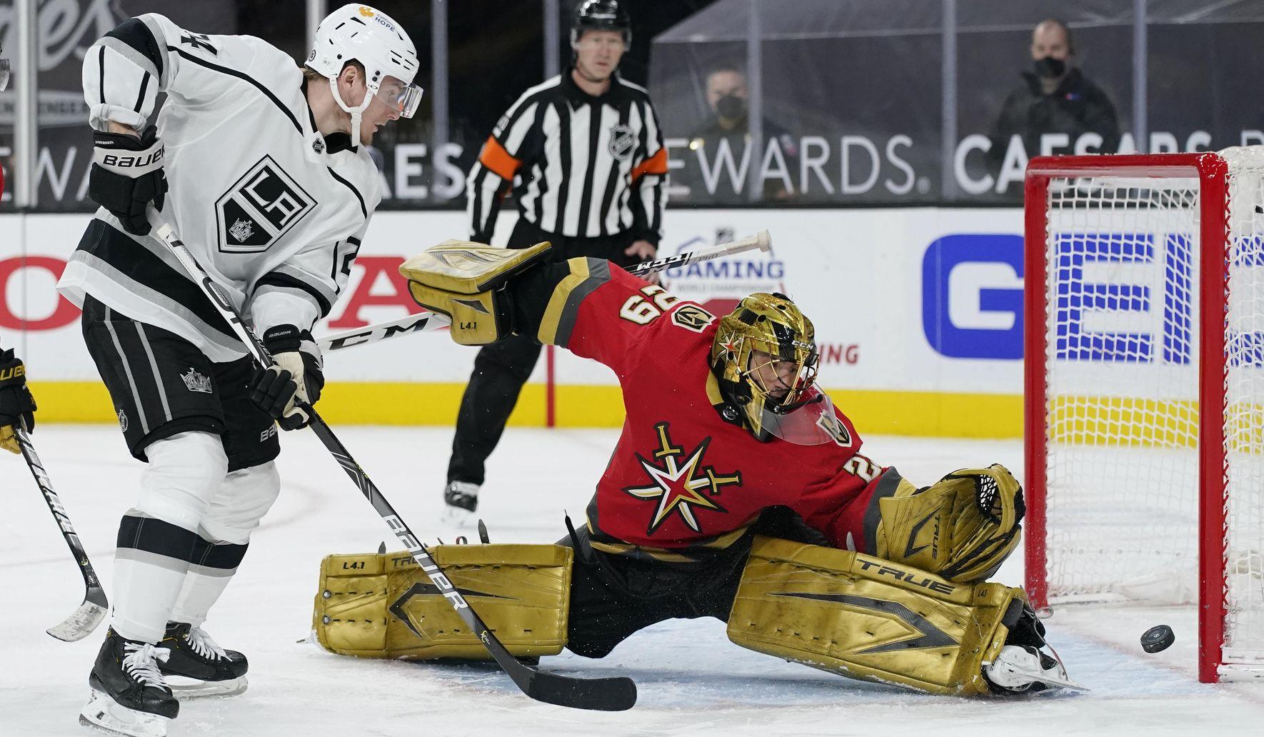 Andersson scores in return, Kings top Vegas 4-2