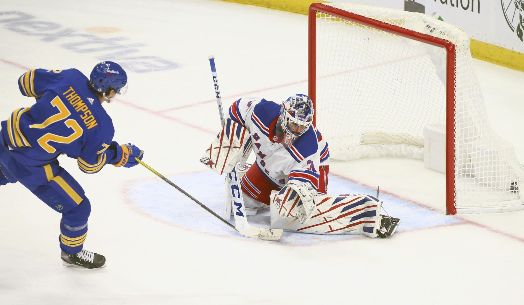 Olofsson ties it late, Sabres top Rangers 3-2 in shootout