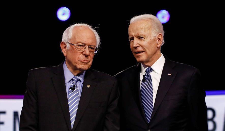 "Top Republican lawmakers are accusing President Biden of enacting a far-left agenda. One senator said he sees Sen. Bernard Sanders' ""fingerprints"" on Mr. Biden's policies. (Associated Press)"