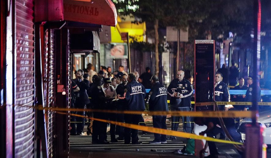 New York was one of several cities that saw an increase in its homicide rate after cutting its police budget. The city cut about 2% from its budget and then saw a 13% increase in its homicide rate, according to an analysis. (Associated Press)
