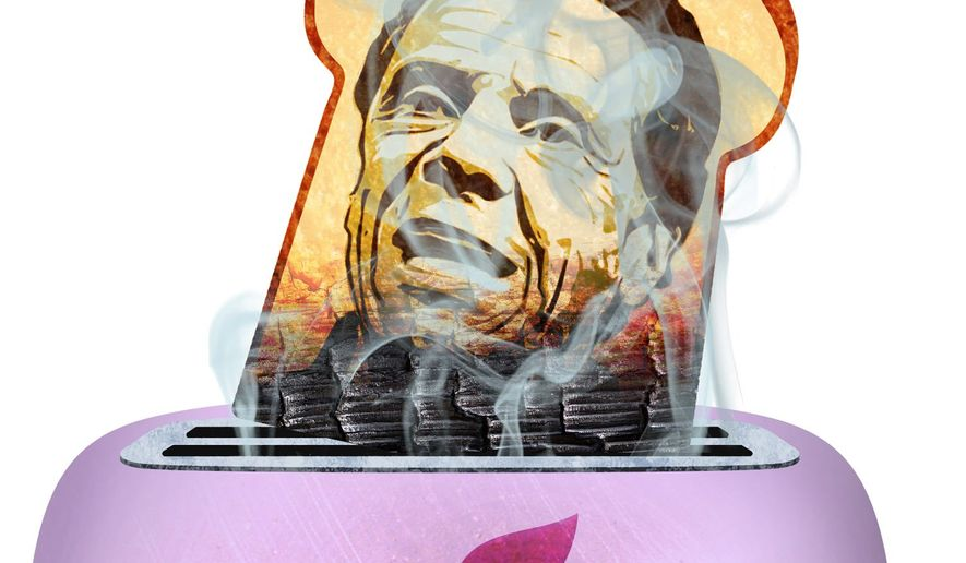 Cuomo is Toast Illustration by Greg Groesch/The Washington Times