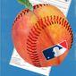 Illustration on MLB and Georgia election bill by Linas Garsys/The Washington Times