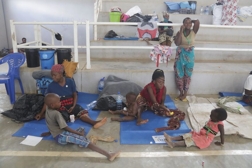 Tens of thousands of civilians found refuge after fleeing increasingly brazen al-Shabab terrorists in Palma, a hub for valuable gas projects in northern Mozambique. Witnesses said bodies littered streets during the dayslong rampage through the city. (Associated Press)