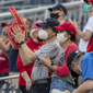 Nationals Park opened to fans for the first time since 2019 on Tuesday night, with 4,801 in attendance. (Courtesy of All Pro Reels)