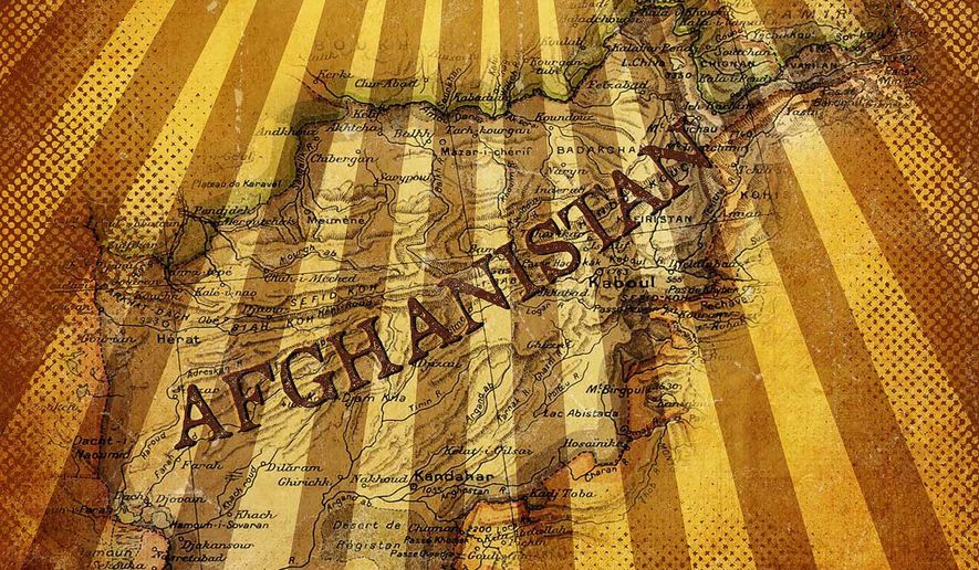 Afghanistan Intel Illustration by Greg Groesch/The Washington Times