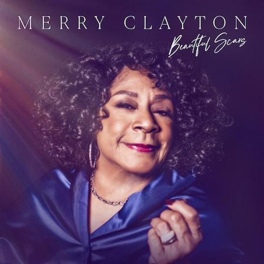 """This cover image released by Motown Gospel shows """"Beautiful Scars"""" by Merry Clayton. (Motown Gospel via AP)"""